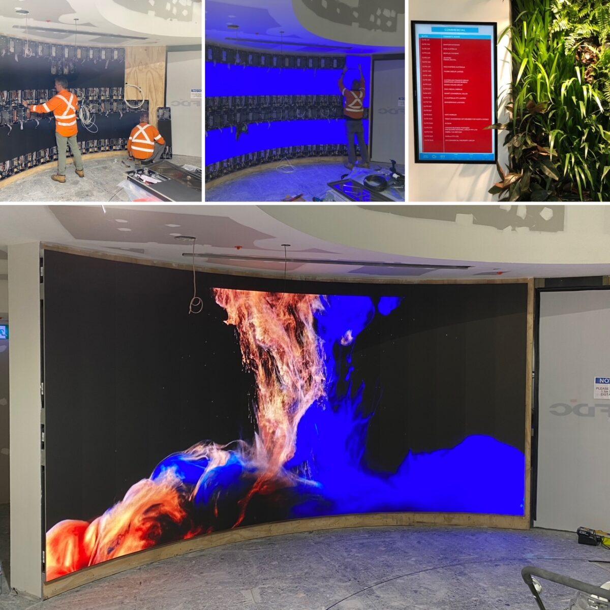 2EP LED Screen