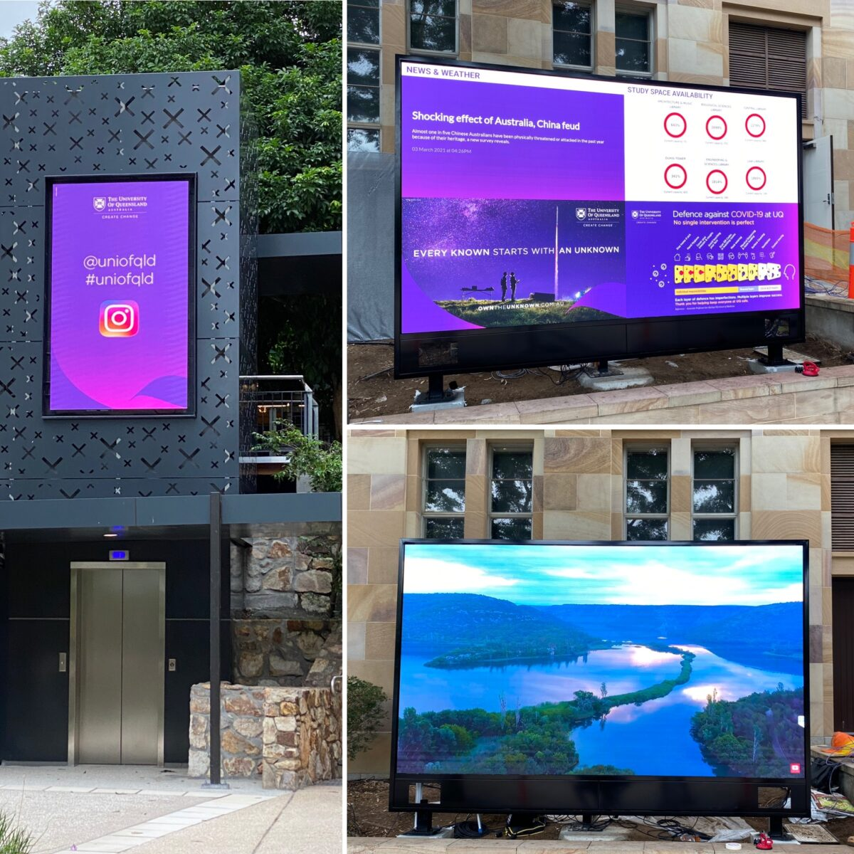 Fine pitch outdoor LED
